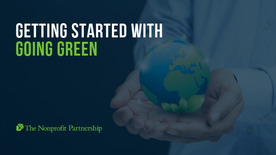 Getting Started with Going Green