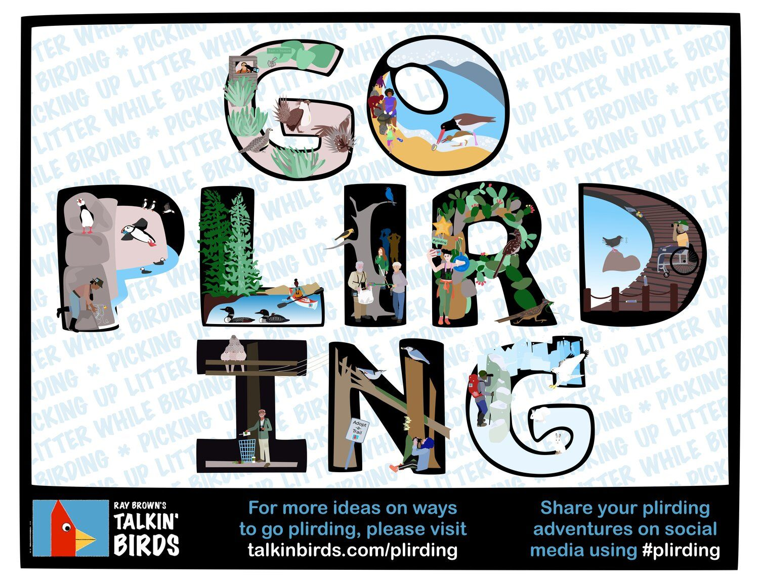 If You Love Birdwatching but Hate Litter, Try Plirding!