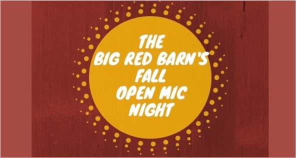 Big Red Barn's Fall Open Mic Night