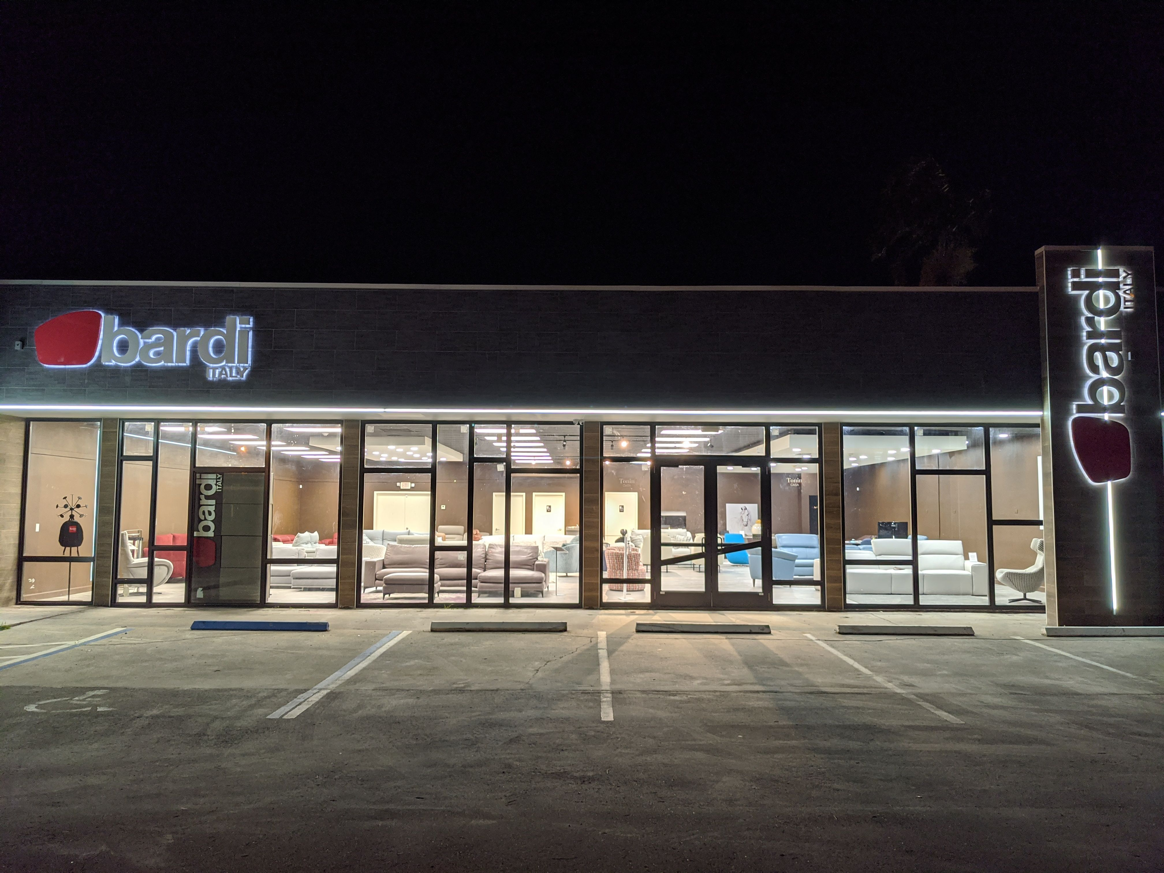 Illuminated Store Front Signs