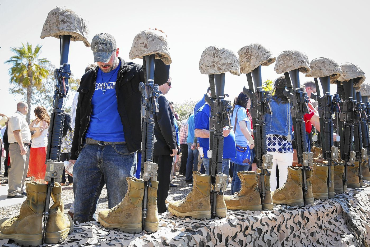 Marines and family members mark 10th anniversary of Iraq war battle - LA Times 2014