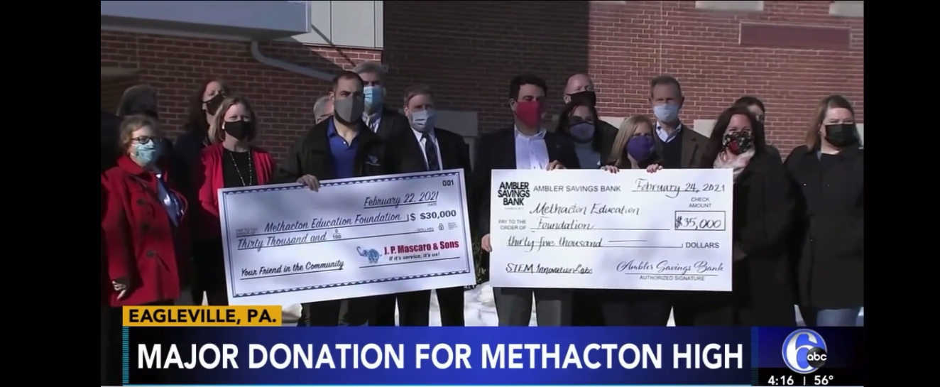 6ABC: Foundation Commits $220,000 to MHS STEM Labs
