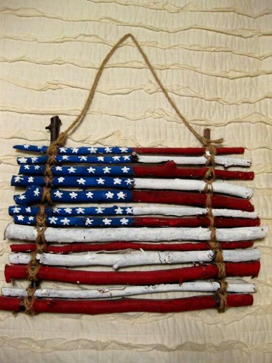 SPARKS - Arts and Crafts: American Flag Craft