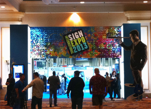 Star's Vegas Vacation: Checking Out the 2013 International Sign Expo