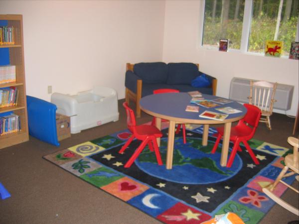 Shelter Playroom