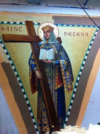 Saint Helena Pendentive
