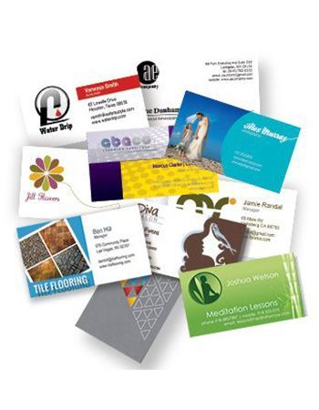 Business card printing from Rx Minuteman Press