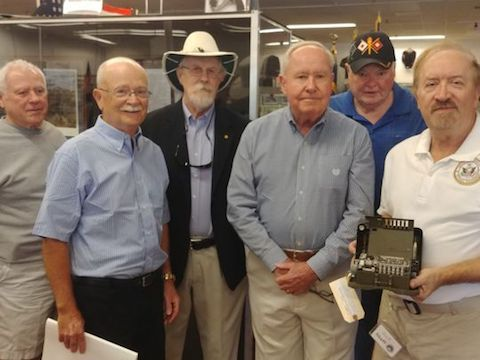 NCM Donates M-209 Cipher Machine to the Southwest Florida Military Museum & Library - Adds Facet To Vast Collection