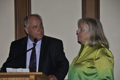 Honorees Jack & Alice Van de Wetering