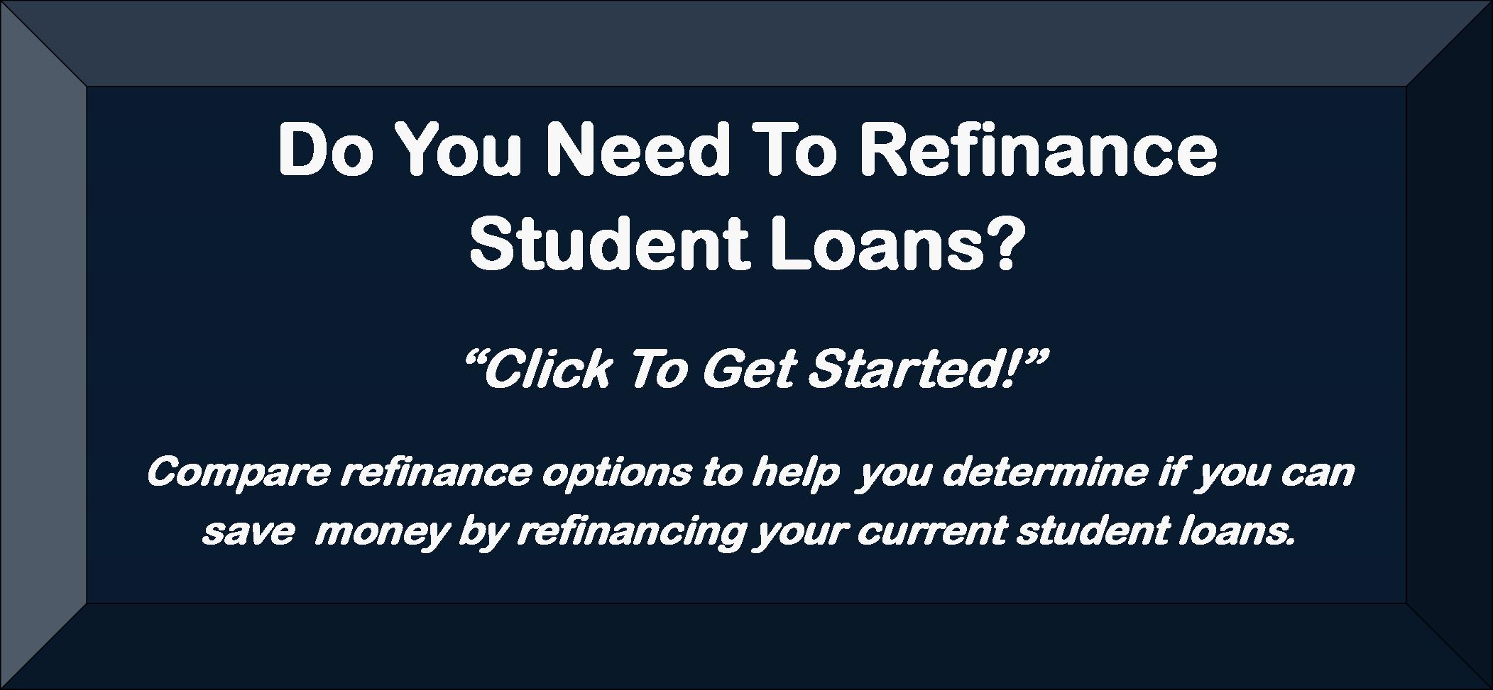 Refinance My Loans Now!