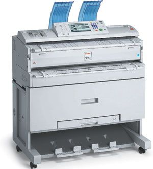 Ricoh Afficio 240W Digital Engineering (Blueprint) Printer/Copier