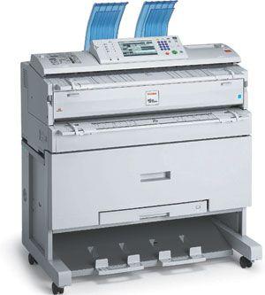 Ricoh Afficio 240W Digital Engineering (Blueprint) Printer/Copier
