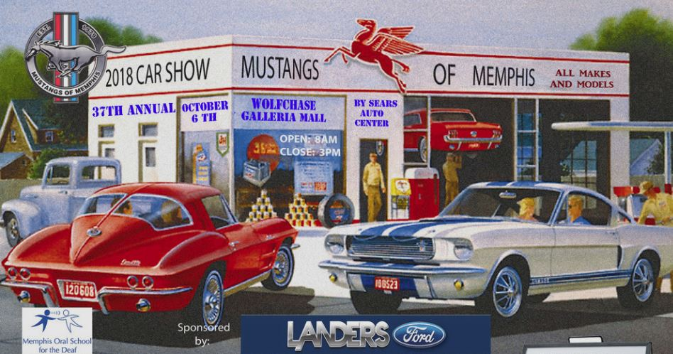 Annual Mustangs Of Memphis Auto Show - Memphis car show