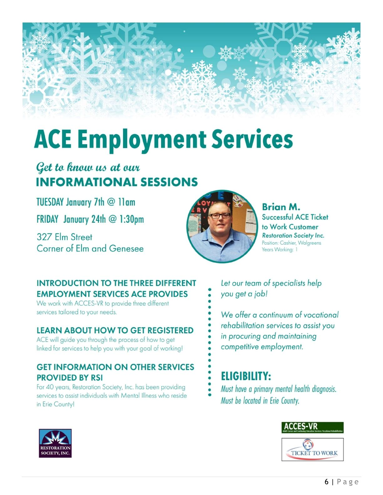 ACE Informational January 2020