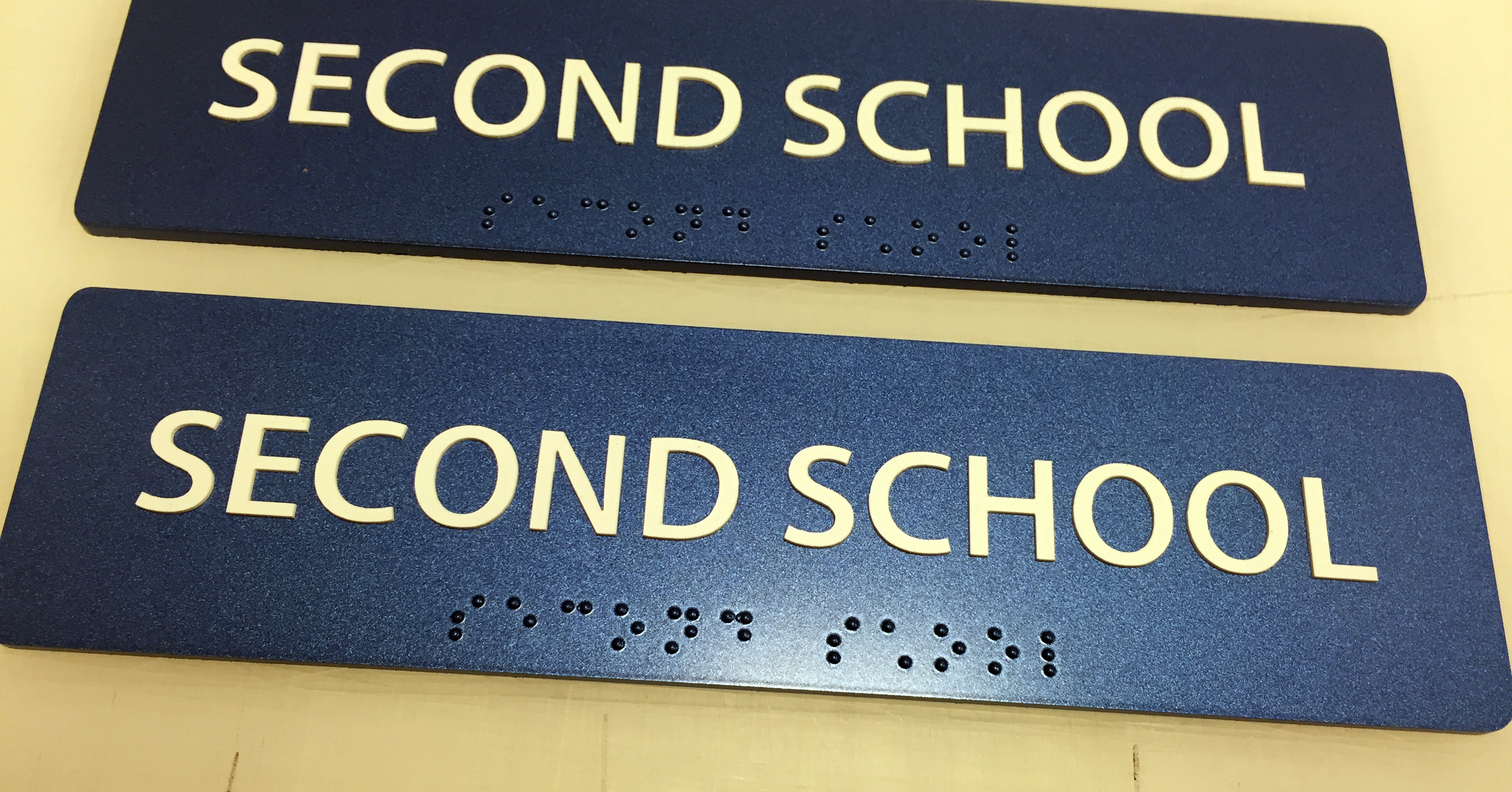 """Second School"" Sign- Limited Quantities"