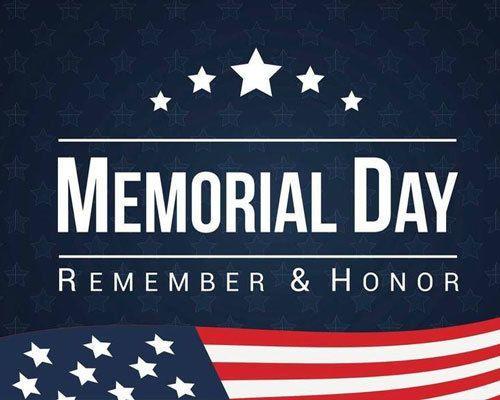 Remember & Honor this Memorial Day