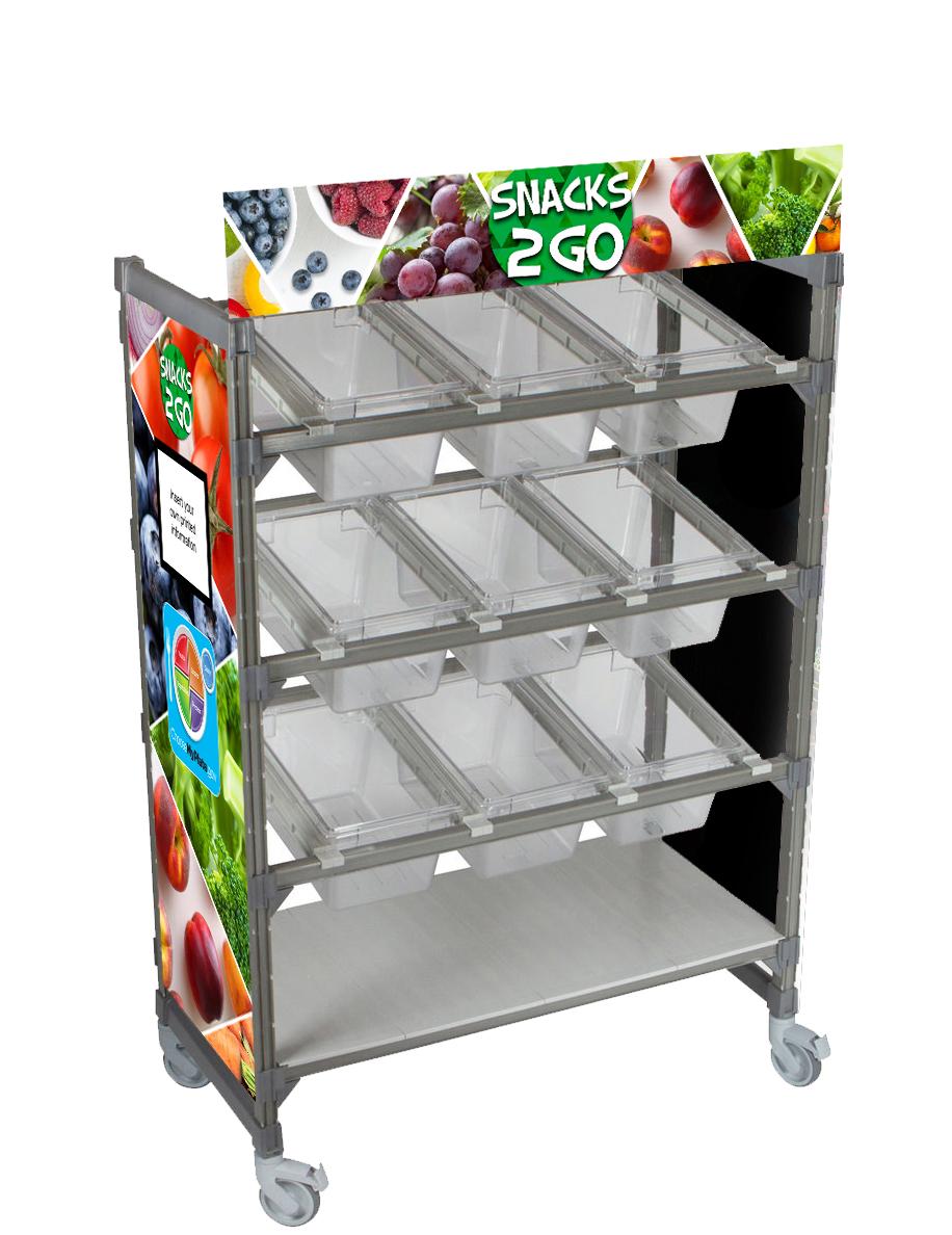 Snacks 2 Go Flex Cart Graphics