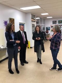 Senator Jen Metzger Visits Open Vistas