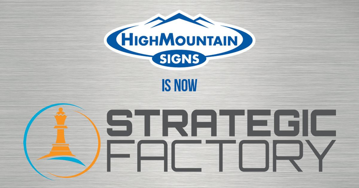 Maryland's Premier Branding, Marketing, and Communications Provider Expands Offerings by Acquiring High Mountain Signs