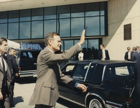 1991: President George H. W. Bush Visited NSA