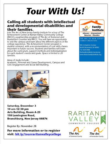 Rvcc Academic Calendar.Resources Event Calendar The Arc Of New Jersey Family Institute