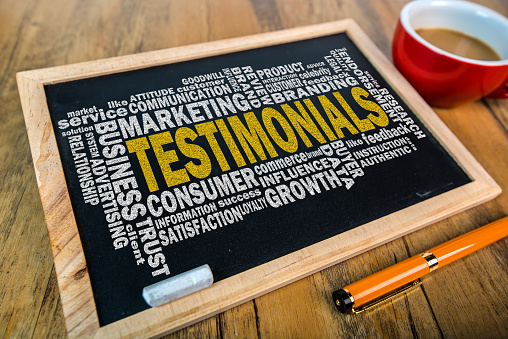 """Take It From Me""- Why Testimonials Are So Effective"