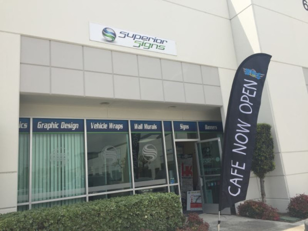 Windflags for advertising in Orange County CA