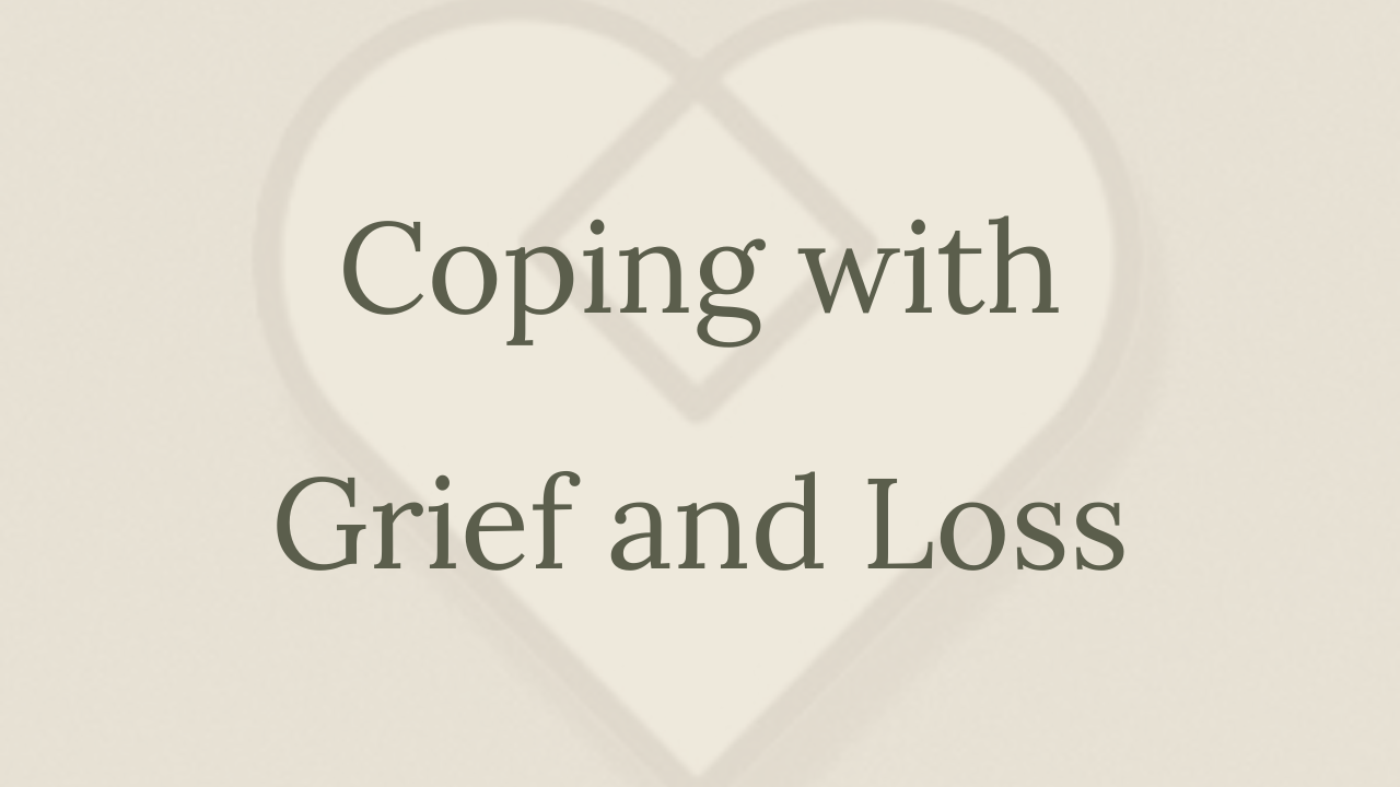 Mental Health Minute: Coping with Grief and Loss