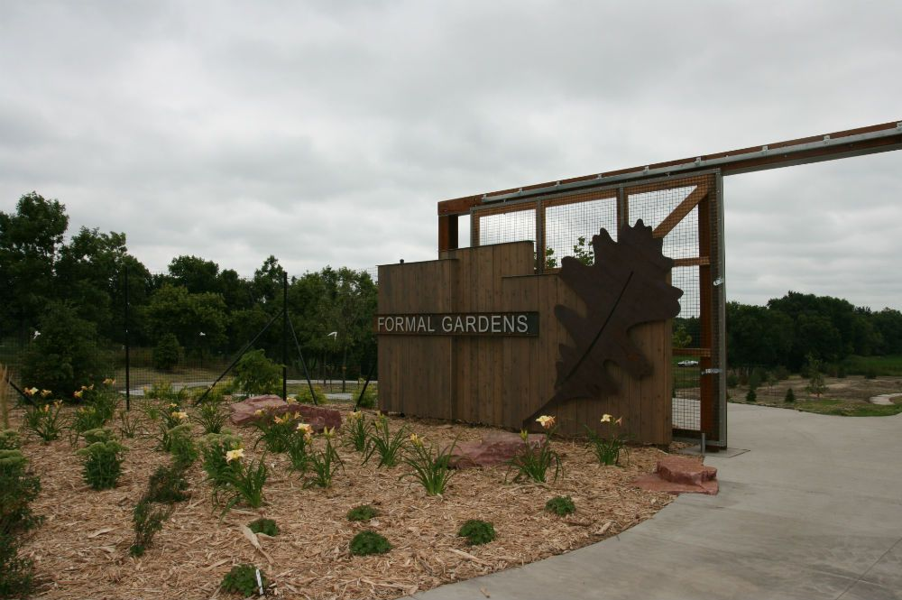 Entrance to the Formal Gardens