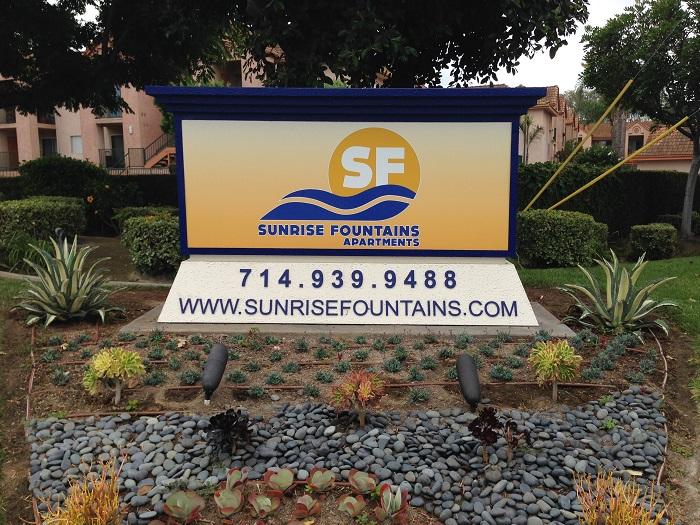 Apartment Complex Monument Signs | Orange County CA