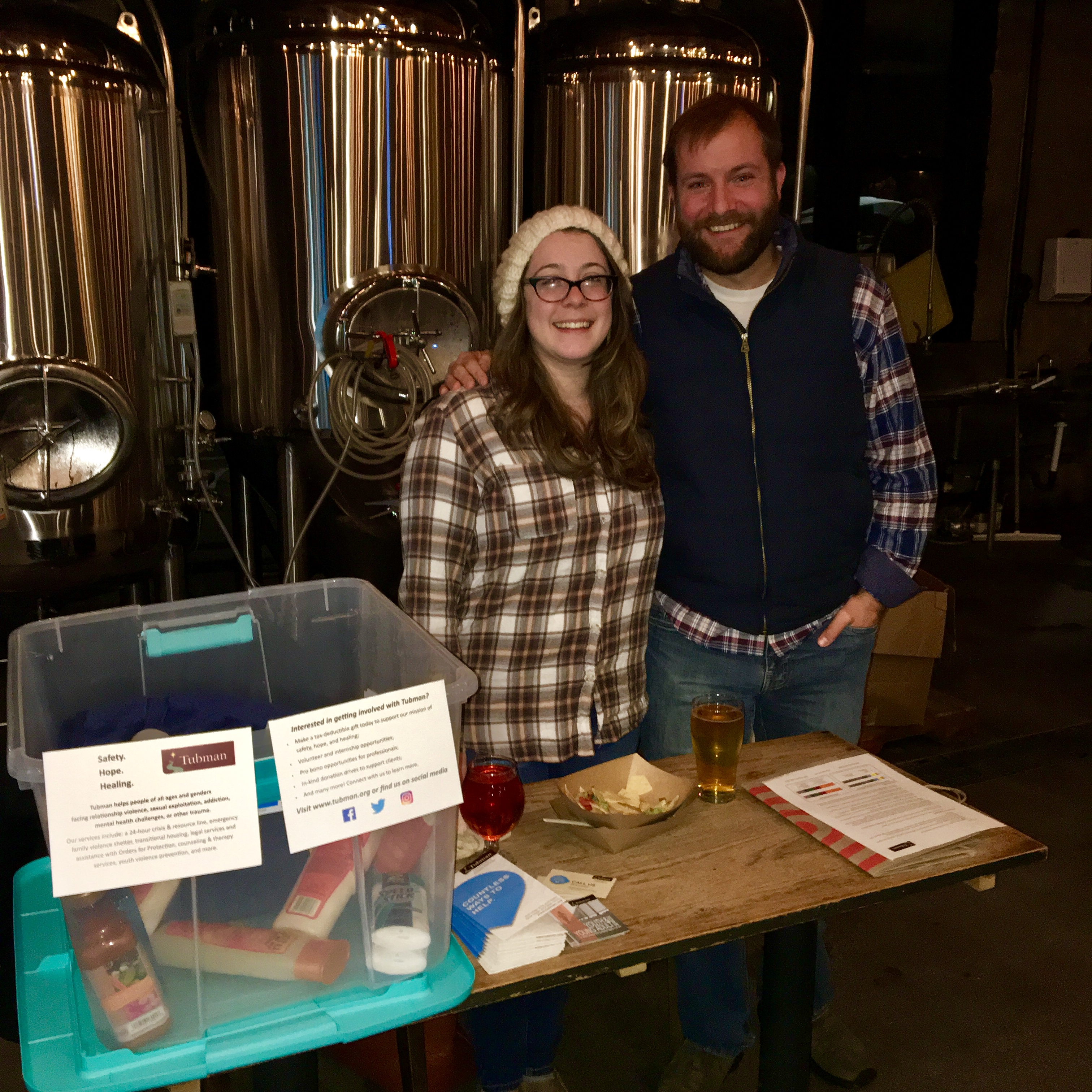 Sociable Cider Werks fundraiser and donations drive