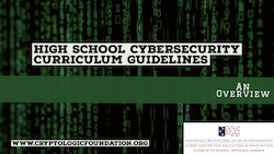High School Cybersecurity Curriculum Guidelines & Links to Related Resources