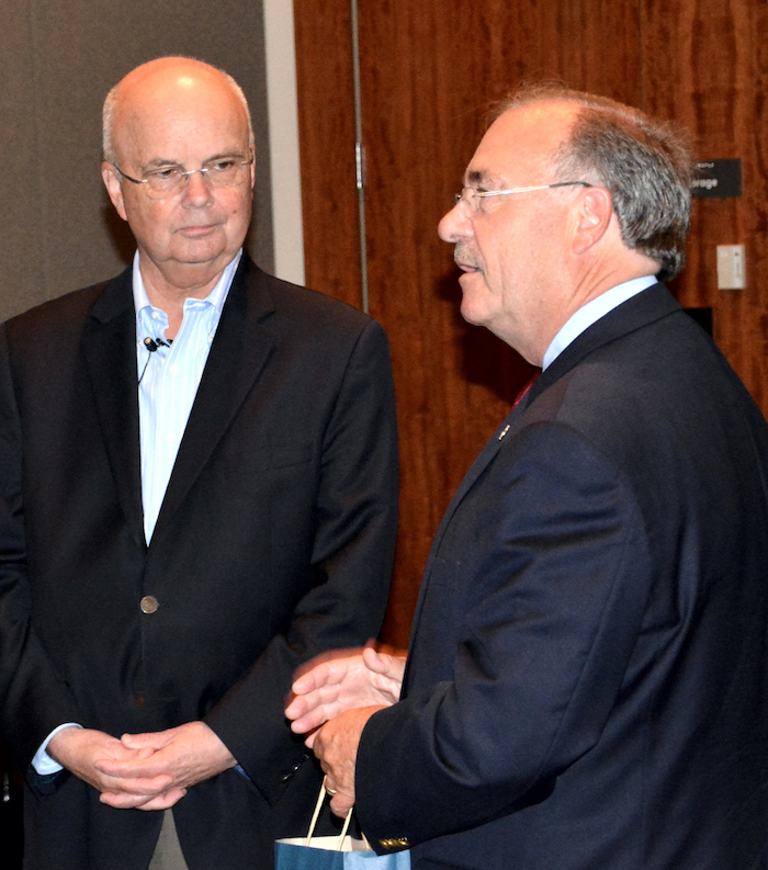 Gen Hayden and NCMF President Richard Schaeffer
