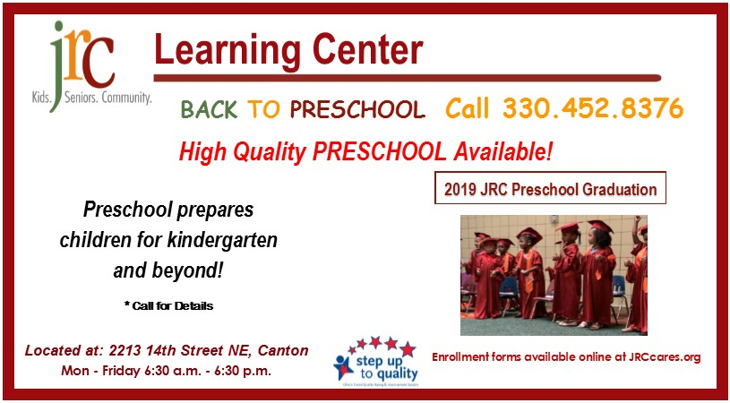 JRC : Programs & Services : Learning Center : Back to School