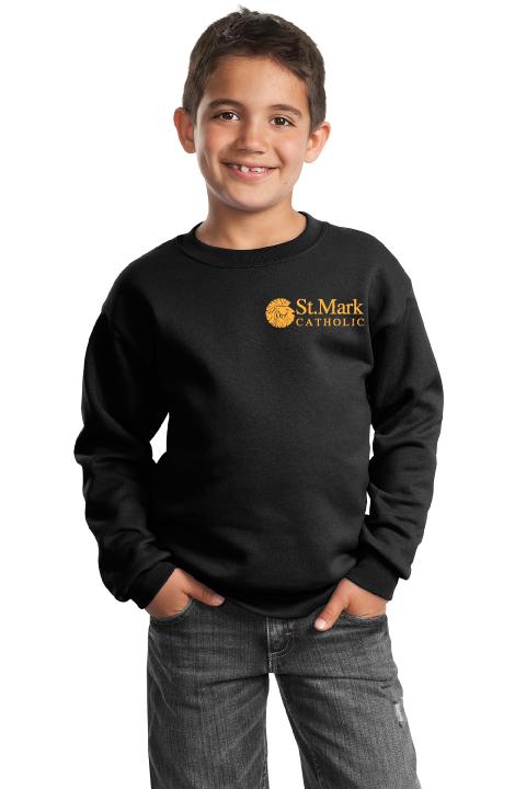 Uniform Crewneck Sweatshirt - Black
