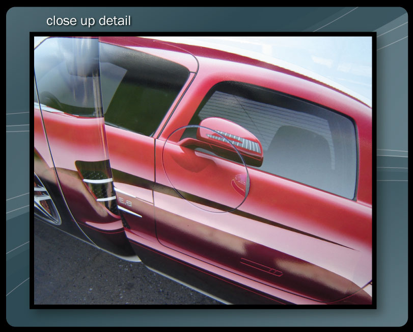DELIVERY TRUCK WRAP DETAILS