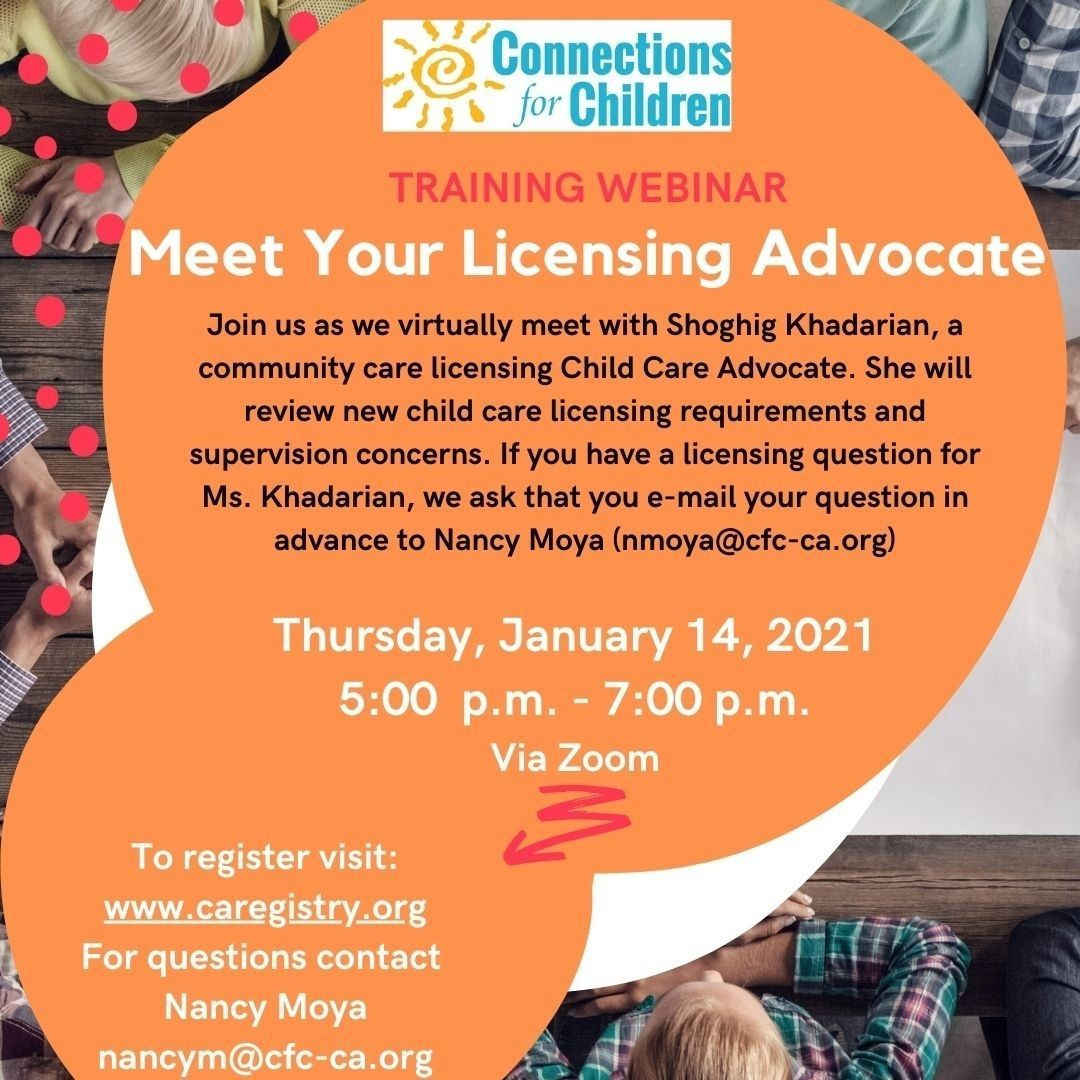 Meet Your Licensing Advocate