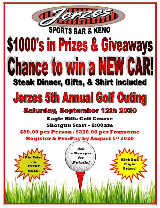 Jerzes 5th Annual Golf Outing