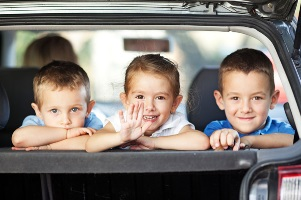 Are you planning a car trip with young children this holiday season?