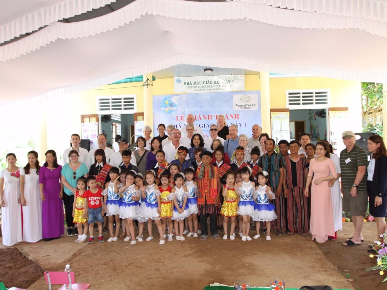 A kindergarten dedication