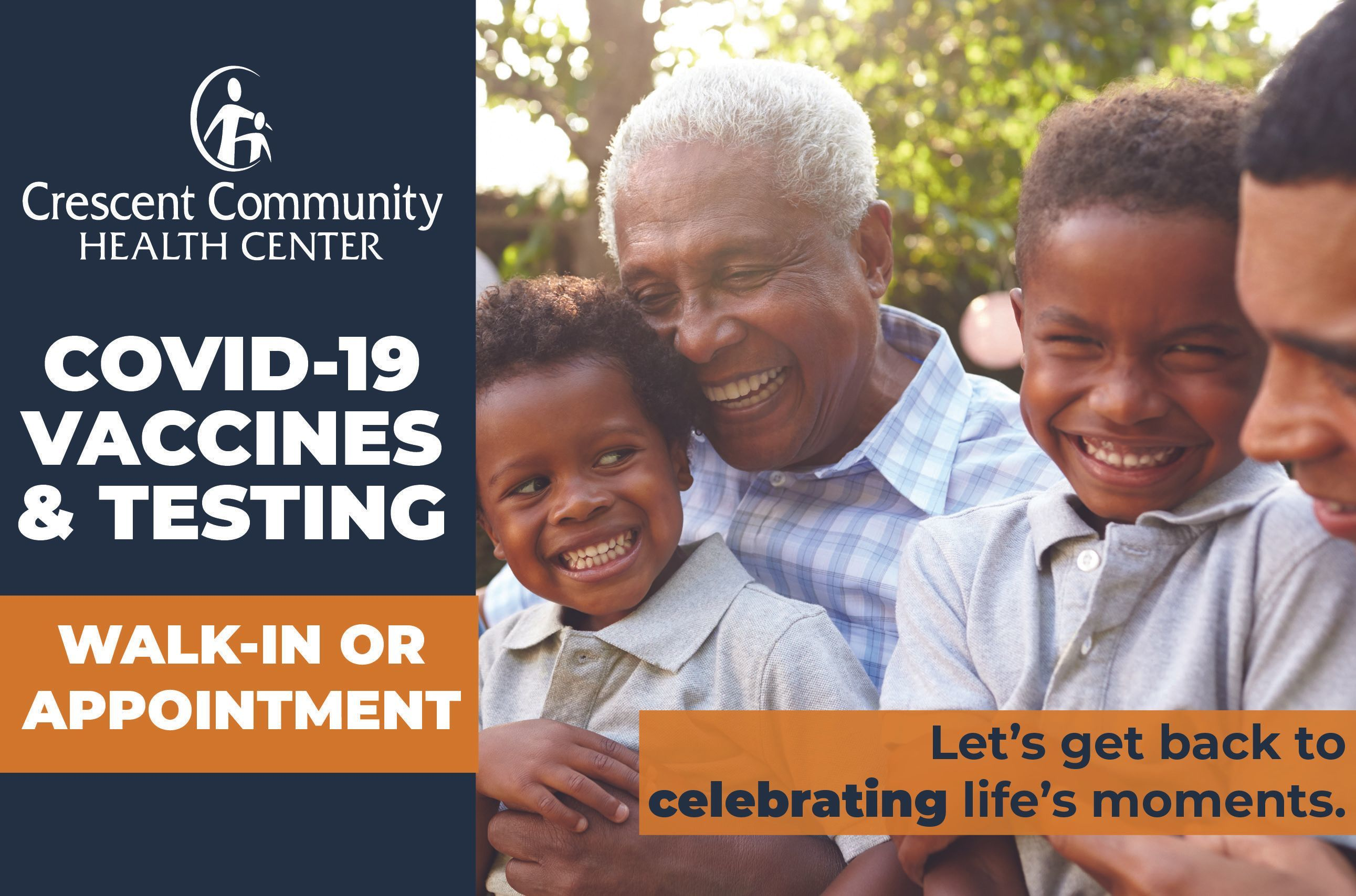 COVID Testing and Vaccines Available