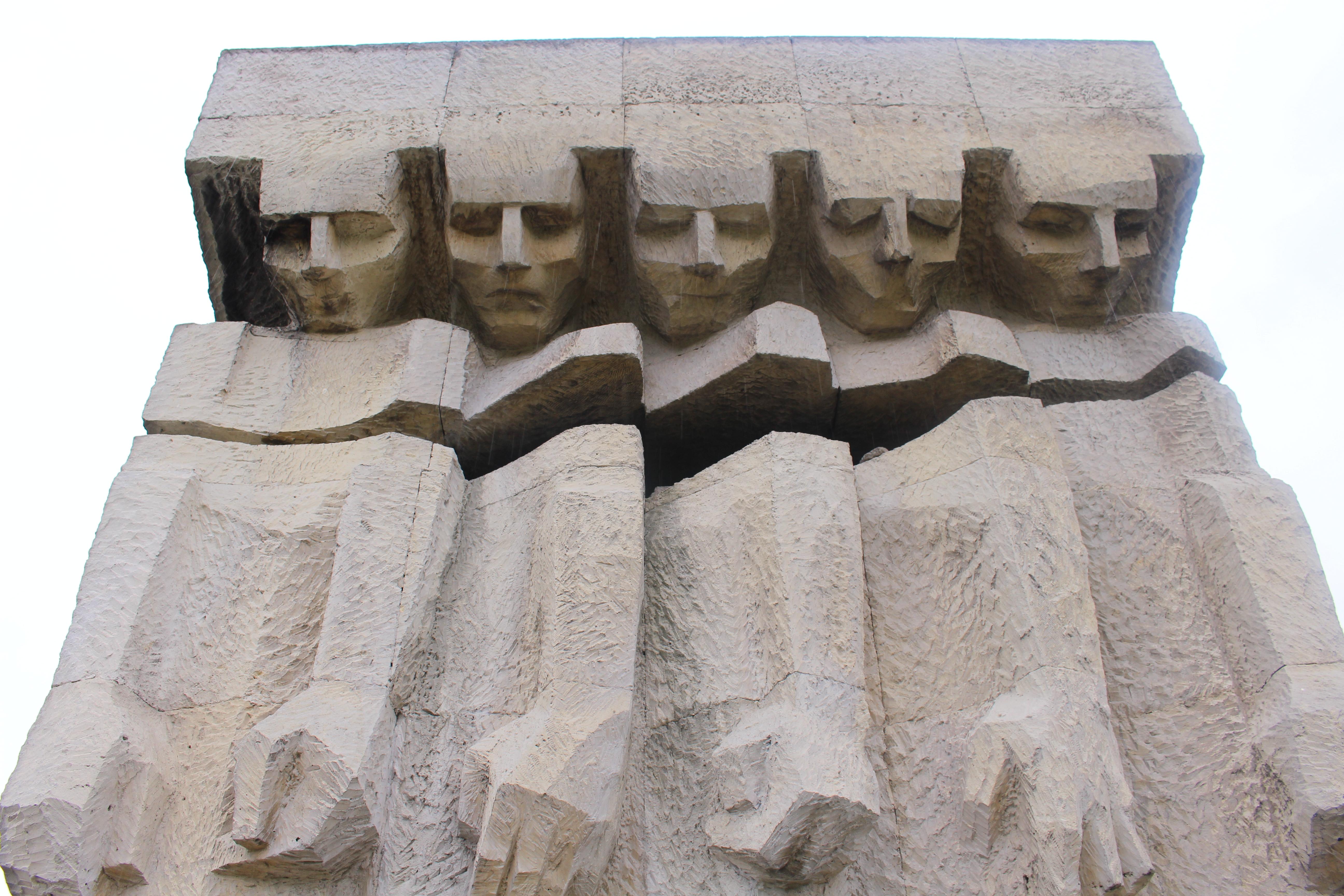 Płaszów Concentration Camp Memorial Statue