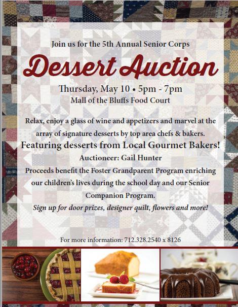 Senior Corps Dessert Auction - Council Bluffs