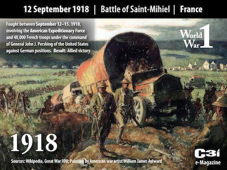 1918: U.S. Offensive on the Saint-Mihiel