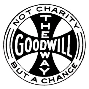A variation of Goodwill's Maltese Cross logo