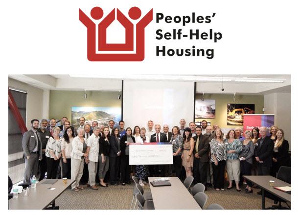 Bank of America Grants $10,000 toward Peoples' Self-Help Housing Programs