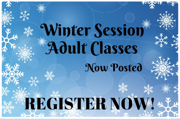 Winter Adult Class Registration
