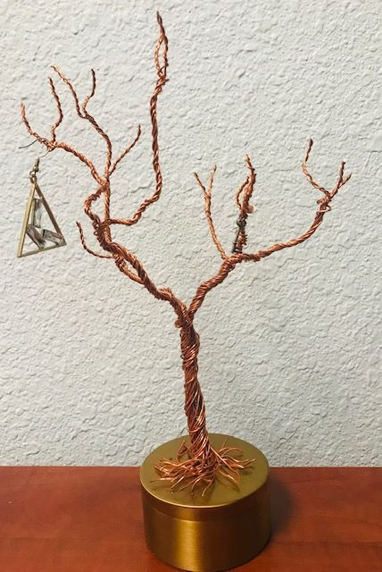 A19 Copper tree with triangle