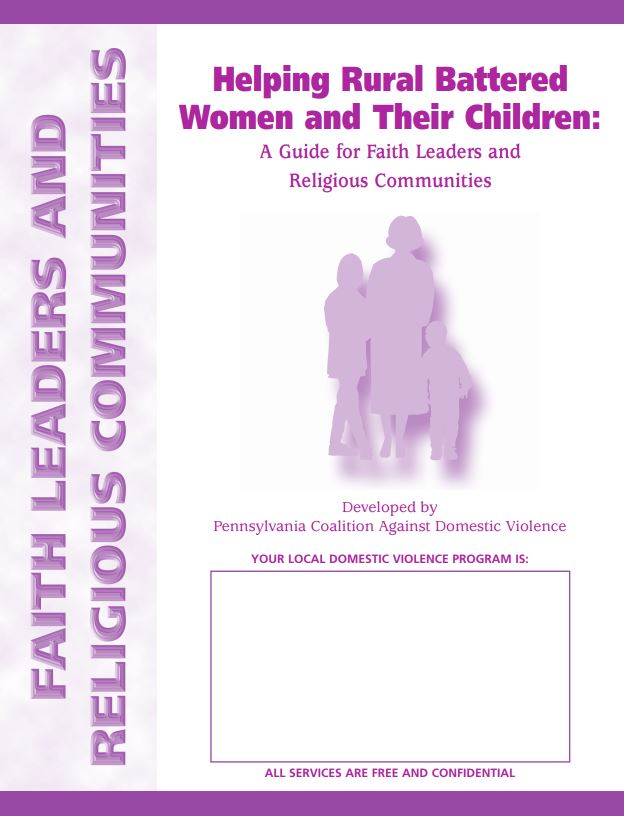Helping Rural Battered Women and Their Children