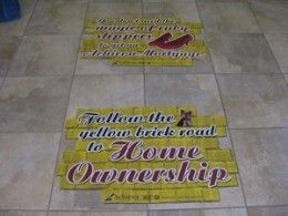 Removable Floor Signs